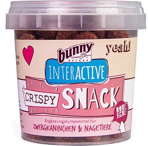 Bunny Nature Interactive Crispy Snacks - Rote Beete - 50 g