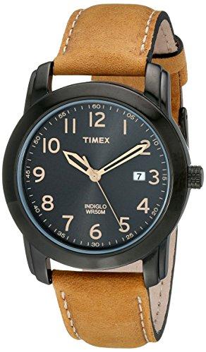 Timex Relógio masculino Highland Street, Bronzeado/preto, NO SIZE