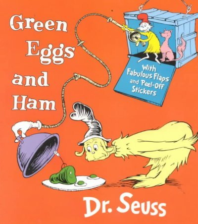 Green Eggs And Ham With Fabulous Flaps And Peel-Off Stickers (Nifty Lift-And-Look W/Stickers) Green Eggs And Ham