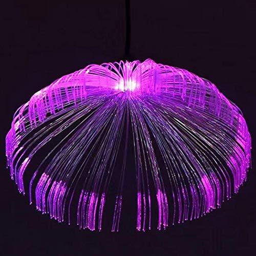 JUSTDOLIFE HäNgendes Licht Qualle Dekorativ AtmosphäRenlicht HäNgelampe Pendelleuchte