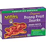 Annie's Homegrown Berry Patch Organic Fruit Snacks, 0.8 oz, 5 Count
