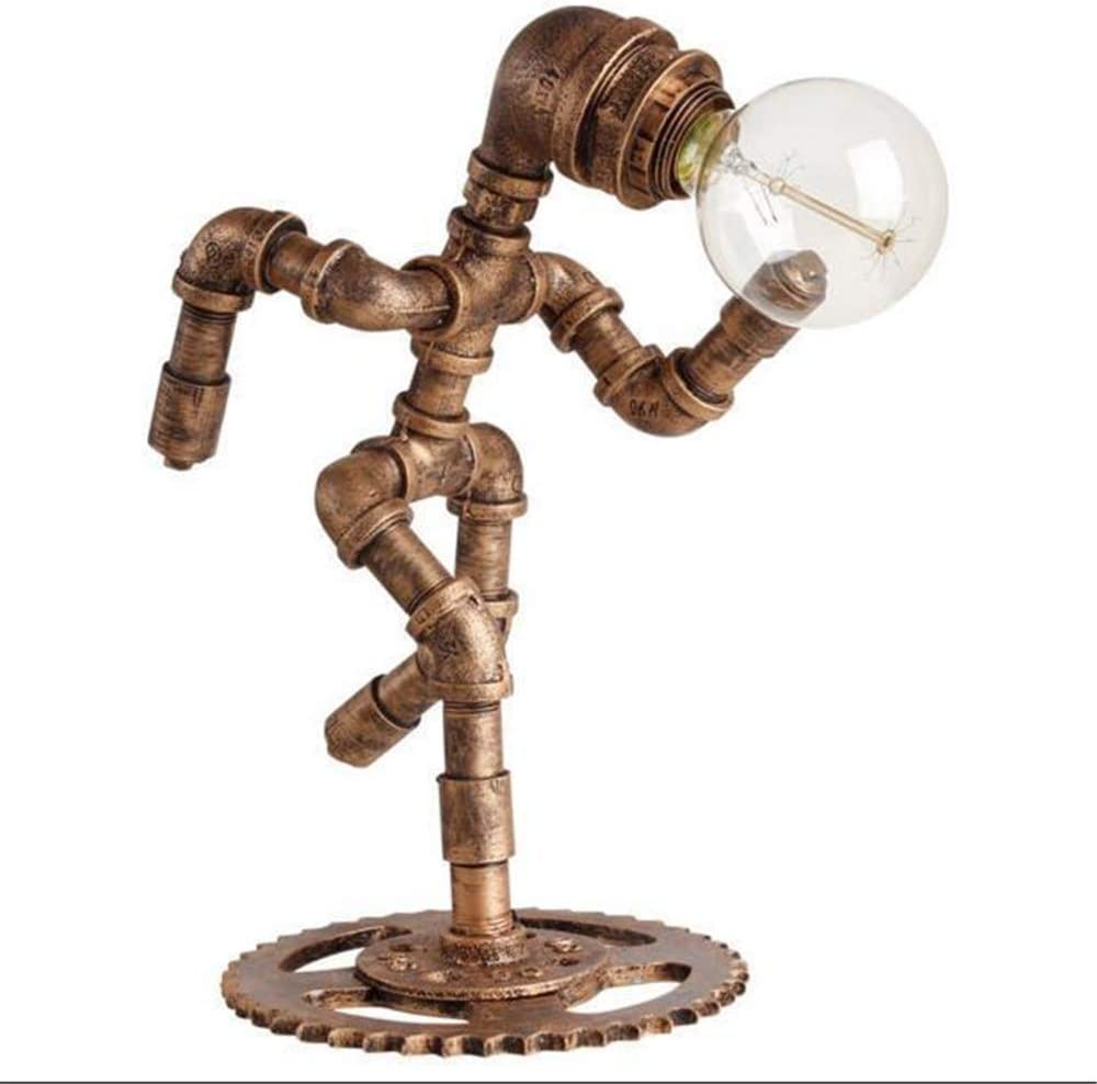 BAYCHEER Creative Desk lamp Retro Embroidery Pe Industrial Now free shipping Style Special sale item