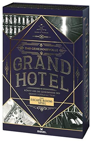 Das geheimnisvolle Grand Hotel | Escape Spiel Deluxe | Wieder verwendbar | Level: Einsteiger, ab 12 Jahren