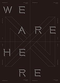 スターシップモンスタX - WE are HERE [I ver.] (Vol.2 Take.2) 1CD+134p フォトブック+2フォトカード+プレオーダーメリット+折りたたみポスター+両面エキストラフォトカードセット