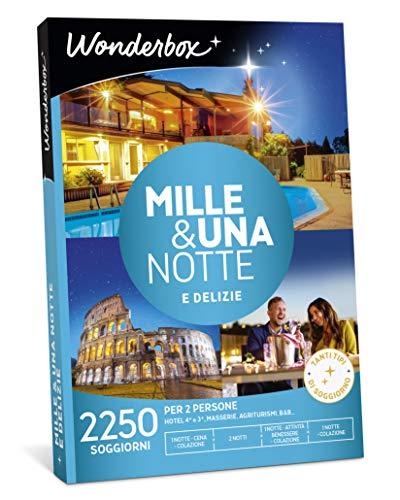 Wonderbox Cofanetto Regalo - Mille & Una Notte E DELIZIE - Valido 3 Anni e 3 Mesi