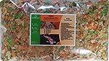 MIBO Gartenteich Mix 7000ml Teichpflege Futter Gartenteich Flocke Sticks Gammarus Pellets