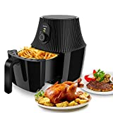 Air Fryer, imarku 2.6 QT Electric Hot Air Fryers Cooker with Timer Knob, Temperature Control Air fryer Oven for Air Frying, Roasting and Reheating