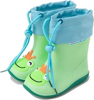Rubber Boots For Men-Rubber Boots Summer Children's Rain Boots Boys Baby Rain Boots Lightweight Non-slip Girls Rubber Shoes Children's Infant Waterproof Shoes Plus Cotton  Rain boots