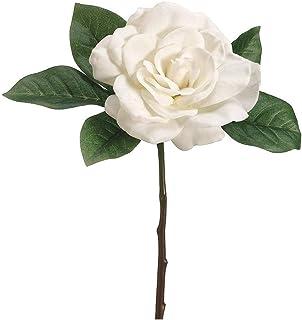 "Afloral Silk Gardenia Pick in Cream - 11"""