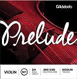 Set di corde D'Addario Prelude per violino, scala 3/4, tensione media...