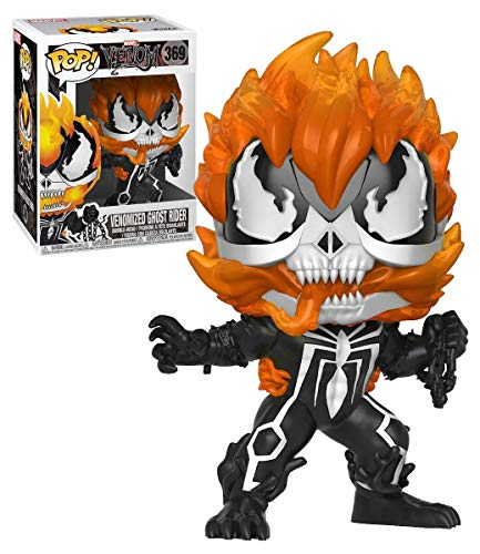 Marvel Funko Pop Venom Venomized Ghost Rider #369 Vinyl Figure Featuring Special Edition Sticker