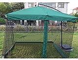 Briefkästen Sonnenschirme Außenmoskitonetz Regenschirm Moskitonetz Regenschirm Anti-Moskito-Invasion geeignet for Outdoor (Color : Dark Green, Size : Thicken)