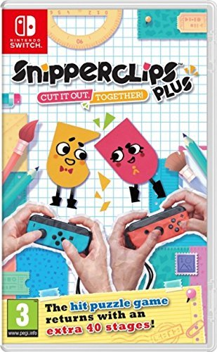 Snipper Clips Plus: Cut it out Together! (Nintendo Switch)