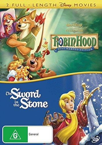 Robin Hood / The Sword In the Stone | NON-USA Format | PAL | Region 4 Import - Australia