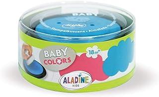 Aladine 03851 Stampo Baby - Recambio de Tinta para tampones, Color Rosa y Azul