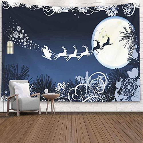Decoración de pared decorativa, decoración de arte para el hogar, trineo, todos los elementos y objetos individuales que se adaptan a cualquier tamaño Texturas navideñas para tapices de fondo de dormi