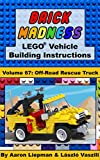 Brick Madness - LEGO® Vehicle Building Instructions: Volume 67 - Off-Road Rescue Truck (Brick Madness - LEGO® Project Building Instructions) (English Edition)