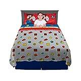 Franco Kids Bedding Soft Sheet Set, 4 Piece Full Size, Super Mario Odyssey
