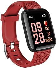 UIEMMY slim horloge Smart Watch Bluetooth Sportarmband Herat Rate Bloeddrukmeter Fitness Smartwatch voor Android en IOS