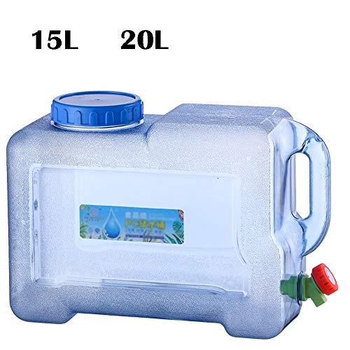 Wasserkanister  Getränkebehälter Mit Wasserhahn   Für Auto- Und Reisezwecke   Großraum 15L , 20L (Size : 20L)