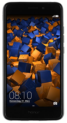 mumbi Hülle kompatibel mit Honor 5C Handy Case Handyhülle, schwarz - 6