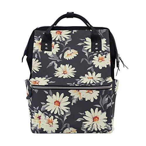 FHTDH Körperpflege Baby- und Kinderpflege Wickeln Wickeltaschen Rucksäcke Mummy Bag Backpack Hand Drawn Watermelon Pattern School Bag