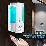 Dispenser Automatico di Sapone da Parete con Dispenser di Sapone Liquido in...