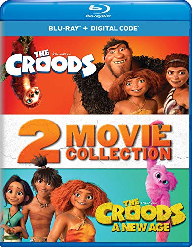 The Croods: 2-Movie Collection [Blu-ray]