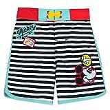Disney Mickey Mouse Striped Swim Trunks for Boys, Size 2