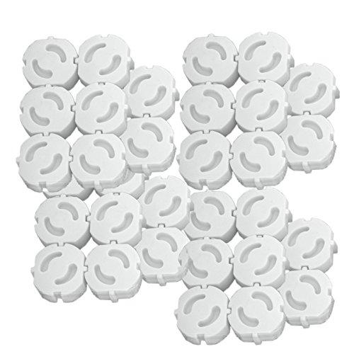 40 Stück Kindersicherung Kinderschutz für Steckdosen Steckdosenschutz Schutz