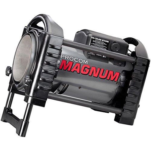 ProCom Forced Air Propane Heater, 125,000 BTU, Model# PCFA125V