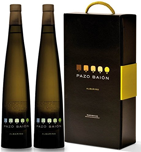 Estuche Regalo Pazo Baión 2 Botellas - Vino Blanco Rías Baixas Albariño