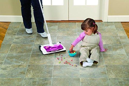 Bissell 41051 Supreme Sweep Turbo Kehrer, Akku-Besen für Hartböden und Teppiche, kabellos, aufladbar, 7.2 V - 4