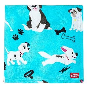 Disney Dogs Fleece Throw - Oh My