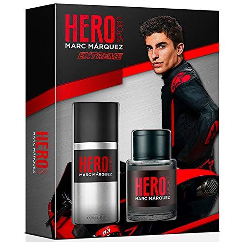 MARC MARQUEZ pack sport extreme colonia 100 ml + desodorante spray 150 ml