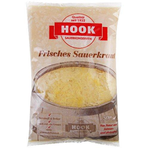 HOOK - Frisches Sauerkraut - 500g (5 Beutel)