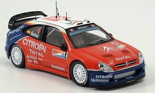 Citroen Xsara WRC, Rallye WM, Rally Argentina, 2004, Modelo de Auto, modello completo, IXO 1:43