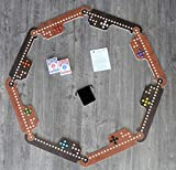 Jokers and Marbles Game (Brown, 4-8 Player)