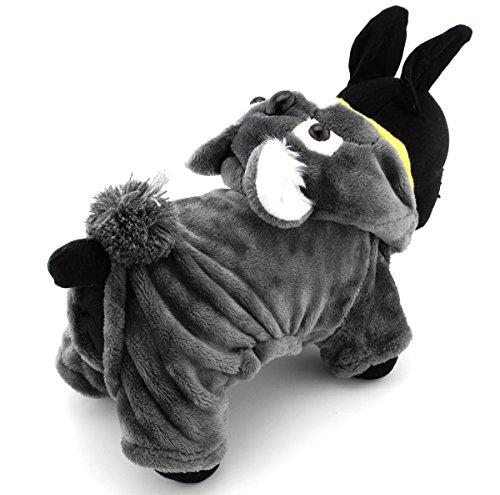 Pegasus Pet vêtements pour chien chiot chat petit koala Costume Party Halloween robe en polaire pour chien Gris