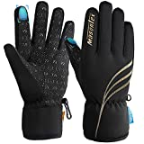 Pvendor Winter Gloves for Men Waterproof Ski Snowboard Gloves with Touch Screen for Outdoor Sport for Women Cold Weather