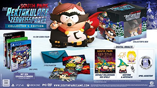 South Park: The Fractured but Whole - Collectors Edition - [Playstation 4] -  [AT-PEGI]