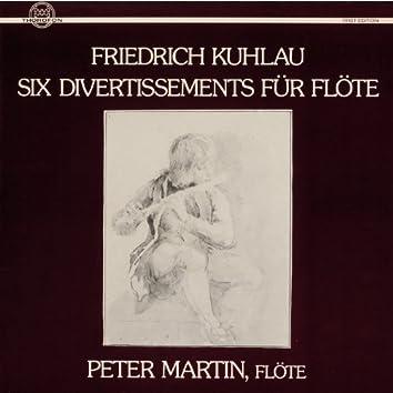 Kuhlau: Six Divertissements für Flöte