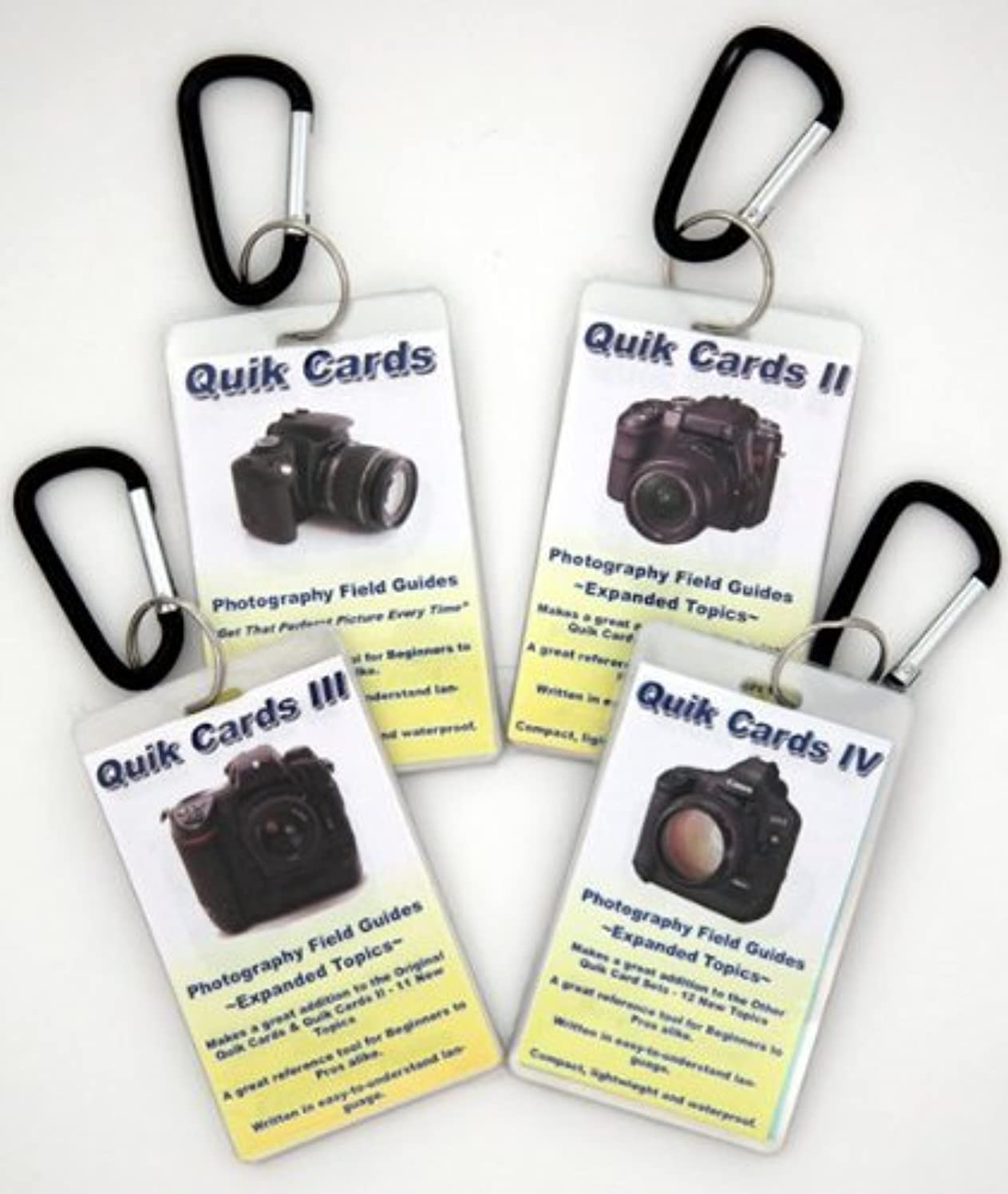 4-Pack DSLR & SLR Cheatsheets. Pocket sized quick reference cards. Complete series for use with Olympus E-1 E-3 E-5 E-30 E-300 E-330 E-400 E-410 E-420 E-450 E-500 E-510 E-520 E-600 E-620