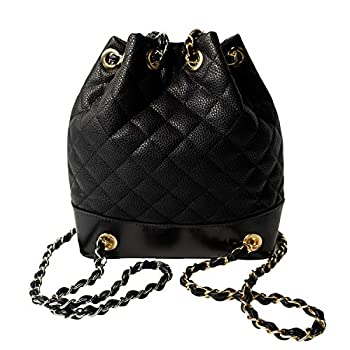 Women Quilted Hobo Backpack Fashion Casual Bucket Shoulder Lightweight Travel Bag