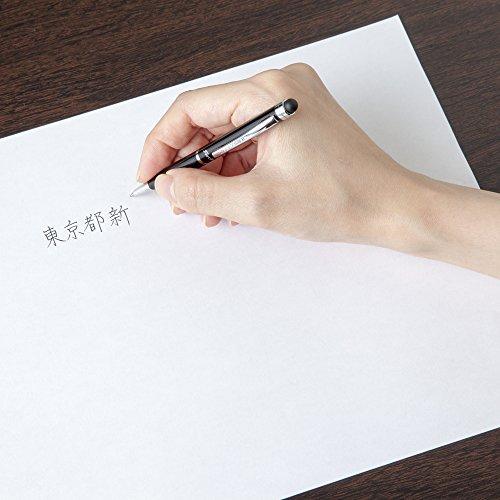 ゼブラタッチペン付ボールペンフォルティアスタイラス黒PATC2BK