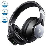 Noise CancellingKopfhörer ANC BOMAKER Bluetooth 5.0 Kabellos Headset CVC 8.0 Mikrofon Wireless Over-Ear Ohrhörermit Protein-Ohrpolstern