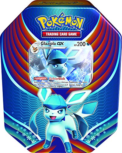 Pokemon PKM 74 Glaziola Sammelkarten, Tin Box, One Size