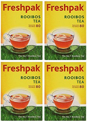 Freshpak Rooibos Tea 80 Tagless Bags (4 X Pack)