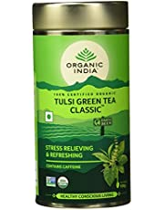 Organic India Classic Tulsi Green Tea, 100 gm