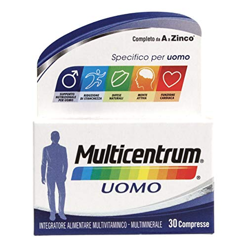 Multicentrum Uomo Integratore - 30 Compresse